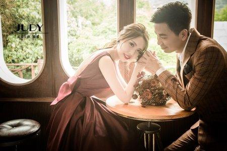 嘉東❤️子瑩  JUDY茱蒂文創婚禮  婚紗照  台北外拍景點  大屯莊園
