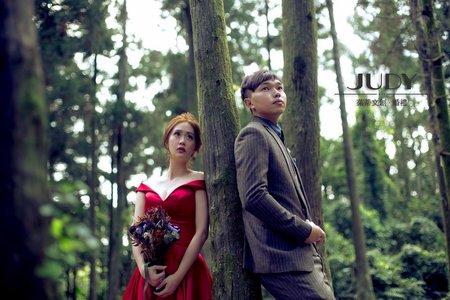 仲鉉❤️雅清 | JUDY文創.婚禮 | 陽明山 | 黑森林 | 台北外拍景點 | 韓風婚紗