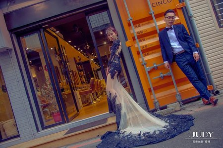 孟璁❤️幗英 | JUDY | 茱蒂文創.婚禮 | 婚紗照 | 台北外拍景點 | 金色三麥 | 黑森林