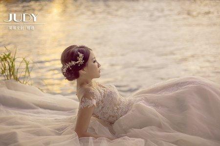柏村❤️芠芊-JUDY茱蒂文創婚禮-台北外拍景點-陽明山-淡水漁人碼頭