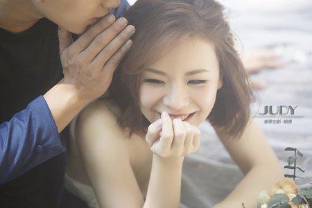 坪霖❤️愉馨-JUDY茱蒂文創婚禮-台北外拍景點-陽明山-水尾漁港