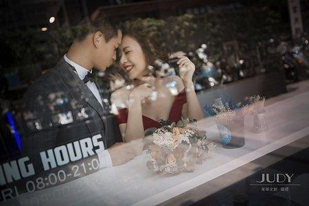 坪霖❤️愉馨-JUDY茱蒂文創婚禮-台北外拍景點-攝影師秘密基地