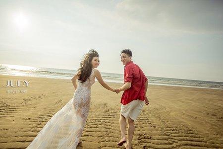 丞凱❤️姵辰-JUDY茱蒂文創婚禮-外拍景點推薦-林安泰古厝-淡水沙崙