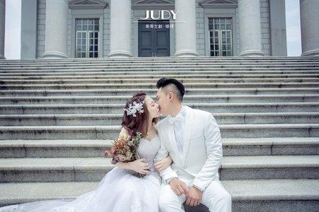 維宏❤️陳庭JUDY茱蒂文創婚禮-台北外拍景點推薦-大同大學-陽明山