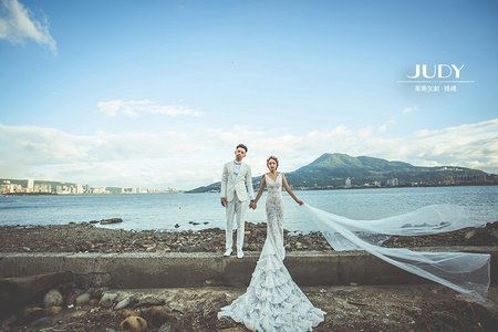 天龍❤️陳沖-JUDY茱蒂文創婚禮-外拍景點推薦-迪化街-淡水小碼頭-沙崙海邊