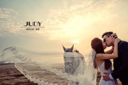 海邊系類❤️JUDY茱蒂文創婚禮 |台北外拍景點 | 水尾漁港|淡水沙崙