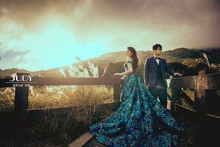 文誌❤️冠寧-JUDY茱蒂文創婚禮--韓風內景-冷水坑-龍鳳谷-台北外拍景點推薦