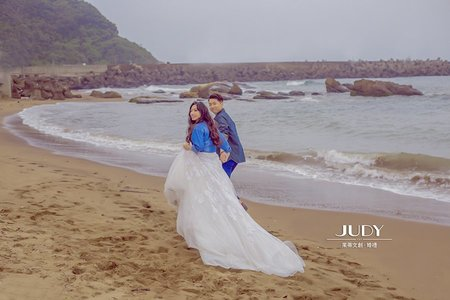 靖峻❤️宜馨-JUDY茱蒂文創婚禮--韓風內景-風格婚紗-陽明山