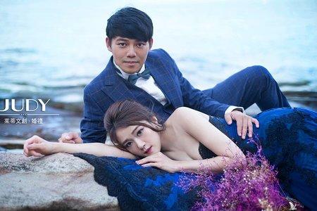 彥儒❤️雅婷-JUDY茱蒂文創婚禮-外拍景點推薦-韓風婚紗-水尾漁港