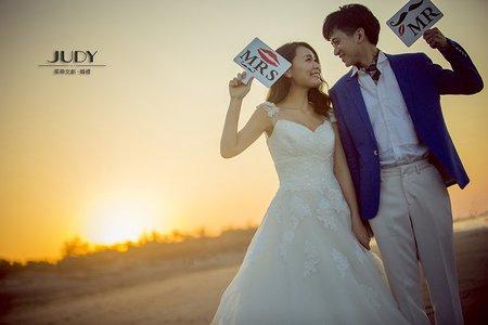 ❤️【judy婚紗推薦】  【judy婚紗】  【judy婚紗禮服推薦】  【judy婚紗禮服分享】2/13最新客照 | JUDY茱蒂文創.婚禮 | 沙崙海灘 |