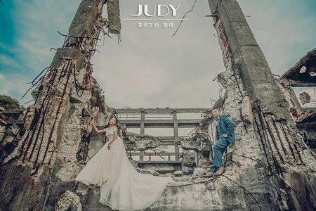 【judy婚紗推薦】柏村❤️芠芊-JUDY茱蒂文創婚禮-台北外拍景點-陽明山-淡水漁人碼頭
