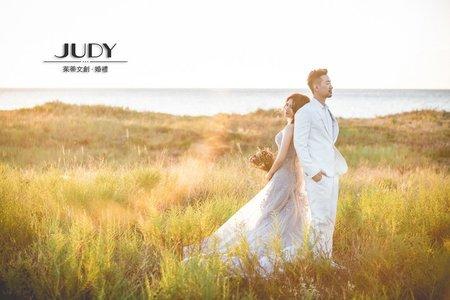【judy婚紗禮服分享】Daniel❤️sharon | JUDY文創.婚禮  | 花卉 | 海邊  |草原 |