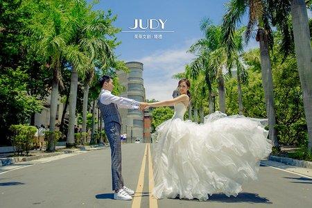 【judy婚紗禮服分享】沂哲❤️寧憶 JUDY文創.婚禮 婚紗照 | 台北外拍景點 | 淡水沙崙
