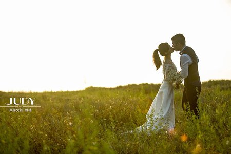 【judy婚紗禮服推薦】立君❤️美齡 | JUDY茱蒂文創婚禮 | 婚紗照 | 台北外拍景點 | 淡水沙崙 | 陽明山