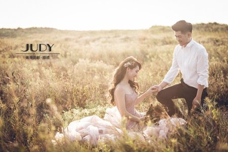 【judy婚紗禮服推薦】博文❤️芝綾 | JUDY文創.婚禮 | 婚紗照 | 陽明山花卉 | 黑森林 | 淡水