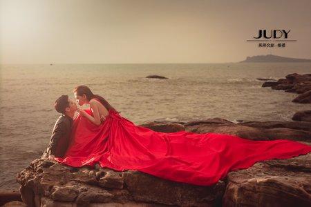 【judy婚紗禮服分享】❤️磅礡大景 | JUDY文創.婚禮 | 婚紗照 |大同大學| 淡水莊園 | 台北外拍景點