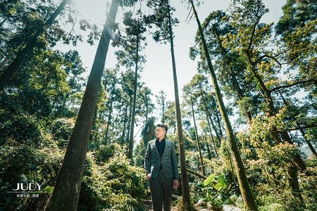 【judy婚紗】冠宏❤️心慈 | JUDY文創.婚禮 | 婚紗照 | 大同大學 | 黑森林 | 水尾漁港