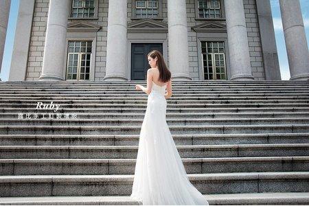 【judy婚紗】❤️新款禮服 | JUDY文創.婚禮 | 婚紗照 | 大同大學  | 韓風婚紗 |