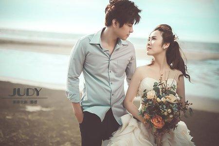 【judy婚紗禮服分享】志青❤️宛君 | JUDY文創.婚禮 | 婚紗照 | 陽明山花卉 | 淡水教堂 | 台北婚紗景點