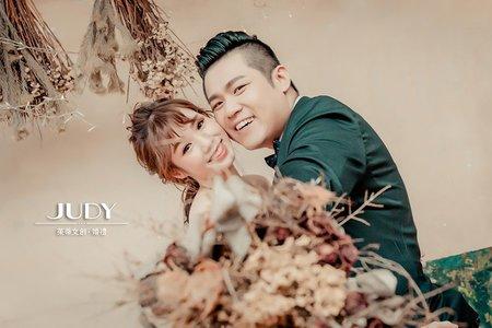 【judy婚紗禮服推薦】❤️七月最新客照-JUDY茱蒂文創婚禮-外拍景點推薦-黑森林-韓風內景
