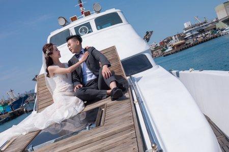 和平島 城堡婚禮  遊艇 類婚紗 2020 0316