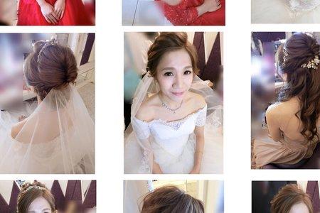 甜美名媛新娘造型