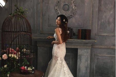 新娘瑋翎婚紗拍攝造型