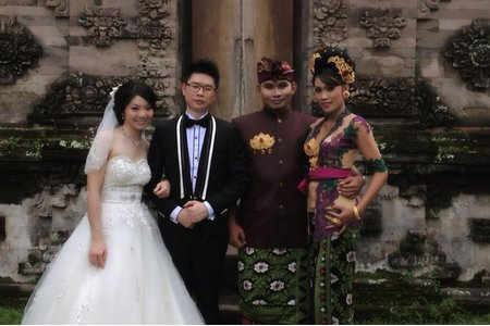 jojo chen Makeup~Bill峇里島婚禮及婚紗拍攝