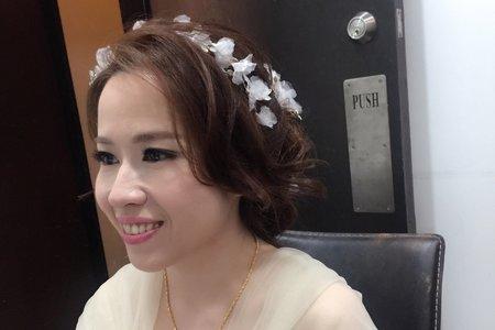 2017.10.28馬來西亞新秘~jojo chen Makeup