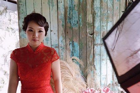 復古旗袍造型