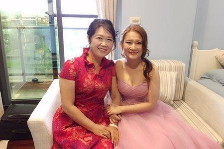 鈺雯宜蘭婚宴~jojo Chen makeup