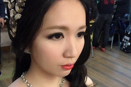 新娘茜茜婚紗拍攝造型~jojo Chen makeup