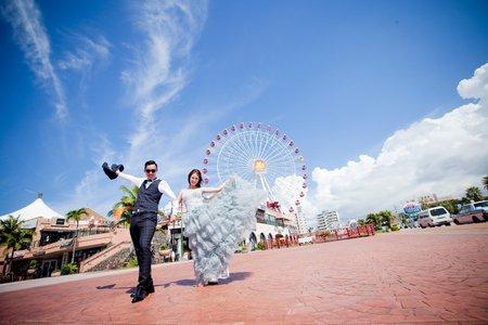 沖繩婚紗旅拍作品~jojo hen 新娘秘書