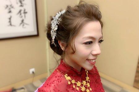 新娘Eva中式禮服造型