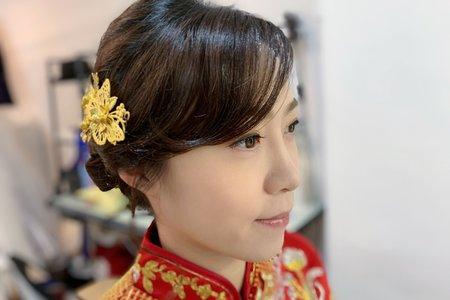 新娘孟秀~秀和服造型~jojochen Makeup