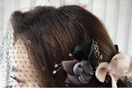 婚宴各式盤髮造型設計~jojo Chen makeup