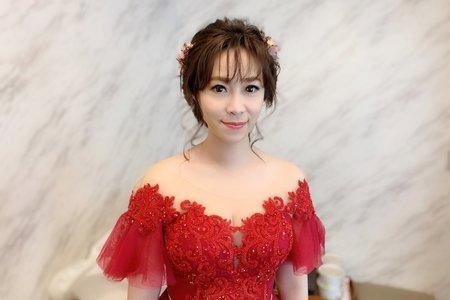 孟秀婚宴~jojochen makeup
