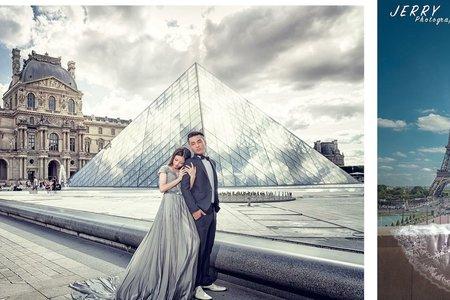 Amanda梅子*巴黎海外婚紗拍攝*