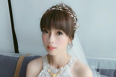 瑩潔公主早妝迎娶造型