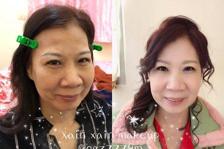 2019/12/7(媽媽妝) 新娘weiting❤️的媽媽~