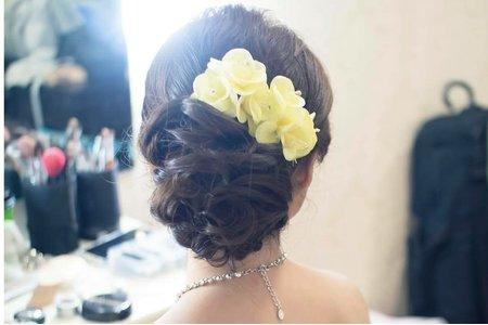 優雅盤髮 新娘若華