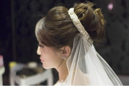 經典賀本 日式丸子頭 新娘欣穎