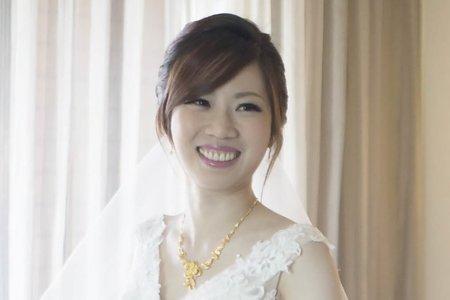 日系高包 韓式低馬尾 新娘于庭