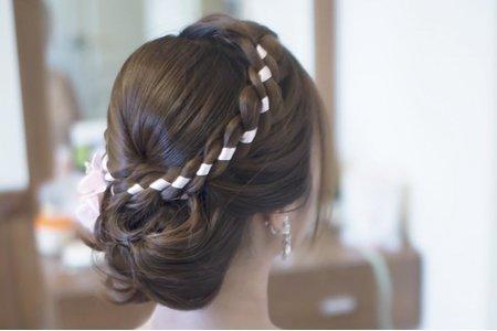 緞帶加編 新娘歐陽