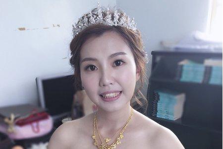 甜美笑容 新娘云銘