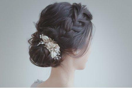 黑髪也很美 新娘翌君