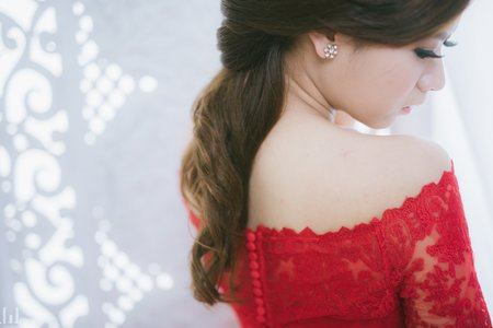 新娘秘書Caroline專業婚禮造型_作品集