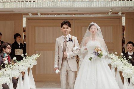 證婚儀式*日本
