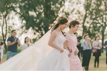 1117迎娶 戶外證婚 儀式