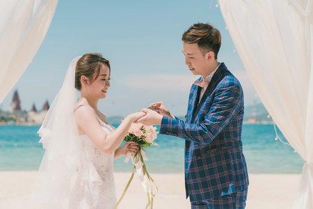 越南芽莊 海外證婚儀式